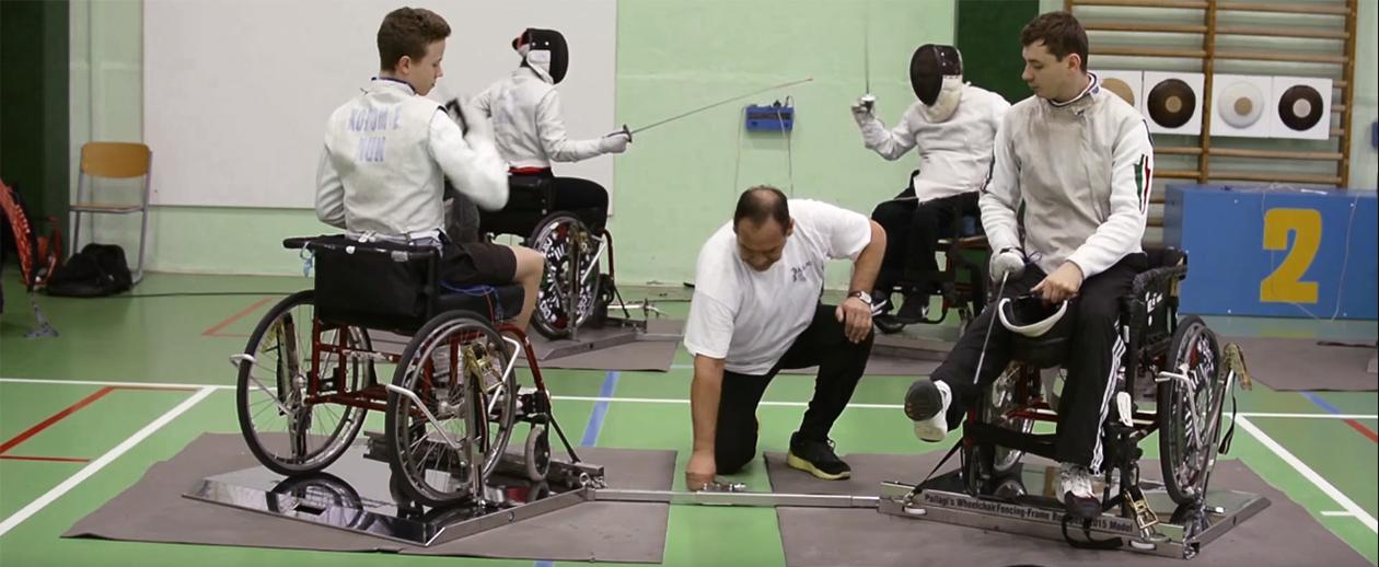 Pallagi vívópástok a riói paralimpián
